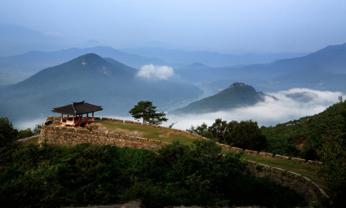 mountain fortress of korea