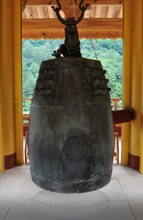 buddhist temple bell of korea