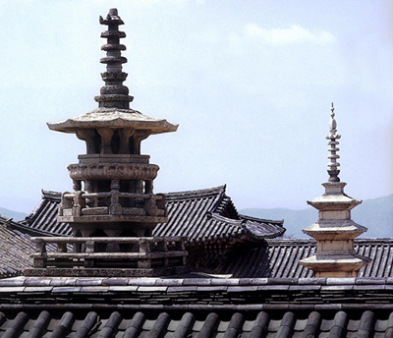 korean buddhist pagoda